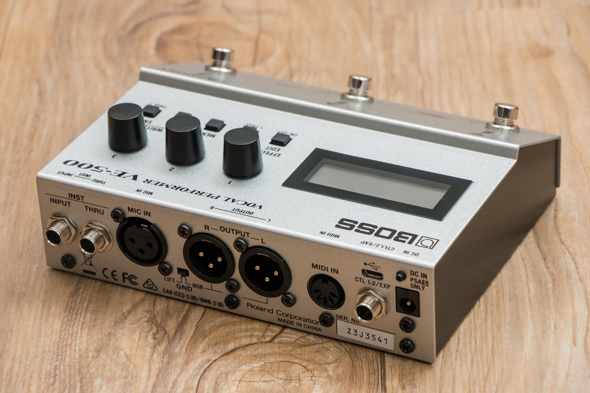 เอฟเฟคร้อง Boss VE-500 Vocal Performer