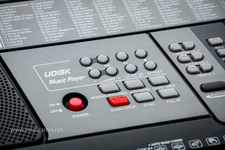 MK คีย์บอร์ด 61 คีย์ มีช่องเสียบ USB รุ่น MK-829 ขายราคาพิเศษ
