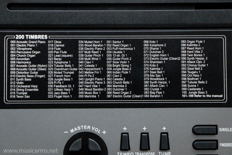 Keyboard MK-809 61 Keys ขายราคาพิเศษ