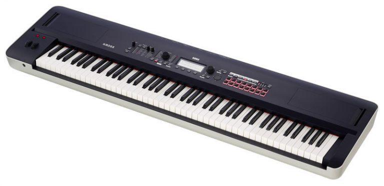 คีย์บอร์ด Korg Kross 2 88 Keys (Black / Matte Black) ขายราคาพิเศษ