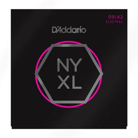สายกีต้าร์ไฟฟ้า D'Addario NYXL เบอร์ 9-42 ขายราคาพิเศษ