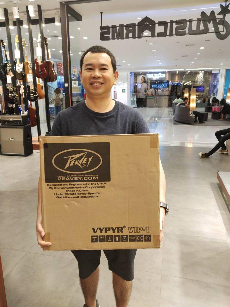 ลูกค้าที่ซื้อ Peavey Vypyr VIP 1
