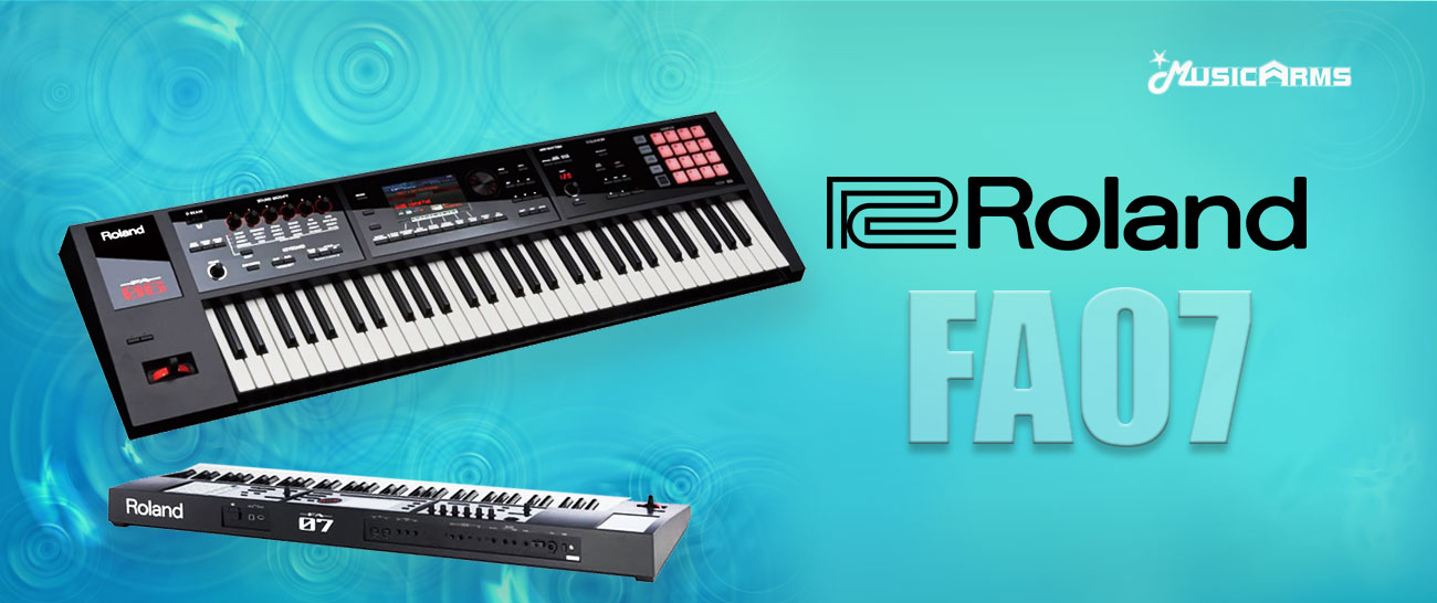 Roland FA07 keyboard