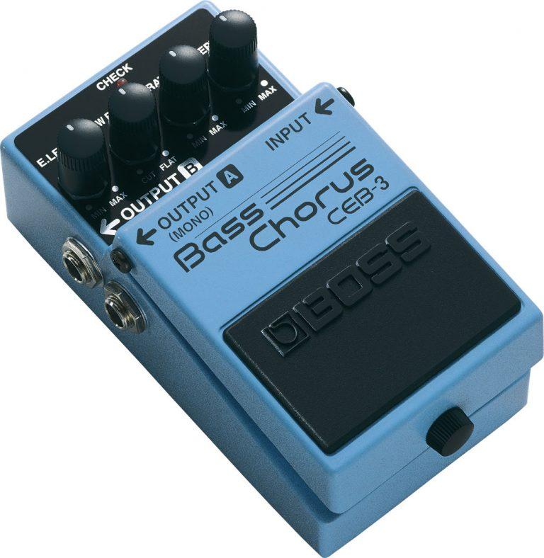 Boss CEB-3 Bass Chorus Pedal ขายราคาพิเศษ