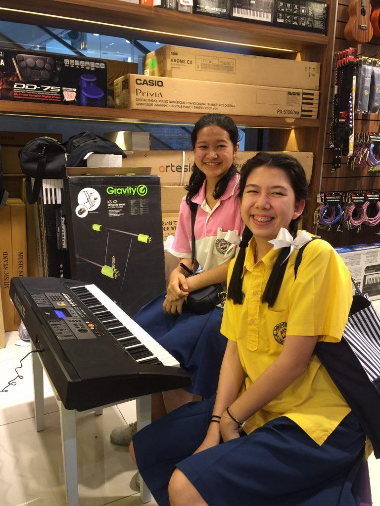 ลูกค้าที่ซื้อ Keyboard MK-809 61 Keys
