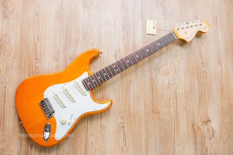Fender Stratocaster Olarn Signature สีส้ม ขายราคาพิเศษ