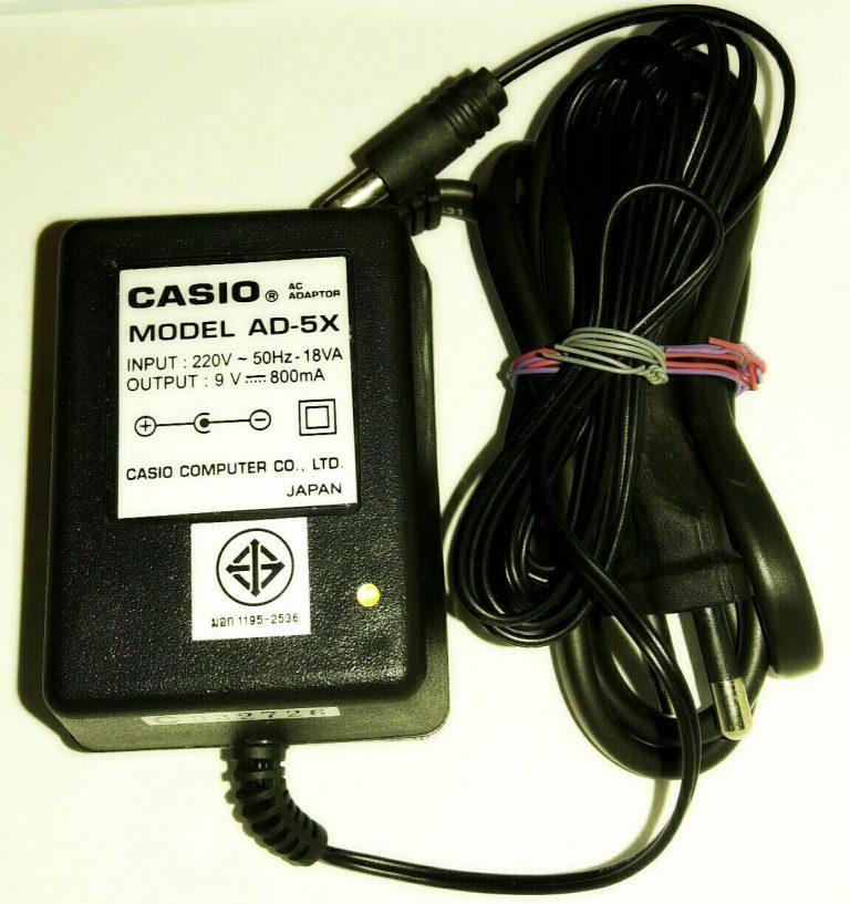 อแดปเตอร์ Casio AD-5X 2006 ขายราคาพิเศษ