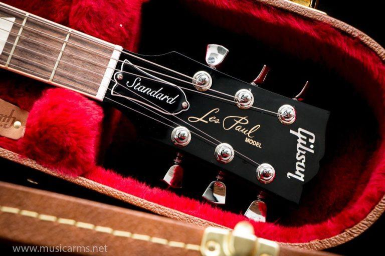 Gibson Les Paul Standard 2019 Heritage Cherry Sunburst headstock ขายราคาพิเศษ