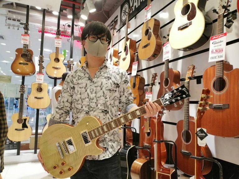 ลูกค้าที่ซื้อ Gibson Les Paul Standard 2019