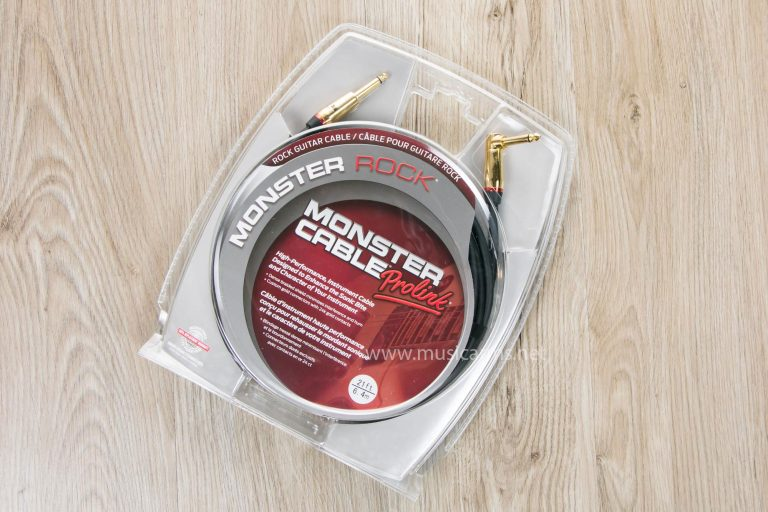 Monster Rock 21 ft Angle to Straight Instrument Cable ขายราคาพิเศษ