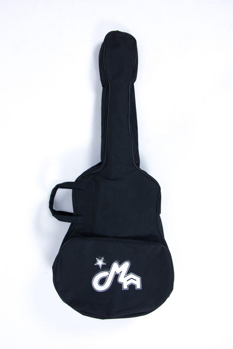 กระเป๋ากีตาร์โปร่ง 41 นิ้ว GustaFeelin QB-MB-420-41 ด้านหน้าตรง ขายราคาพิเศษ