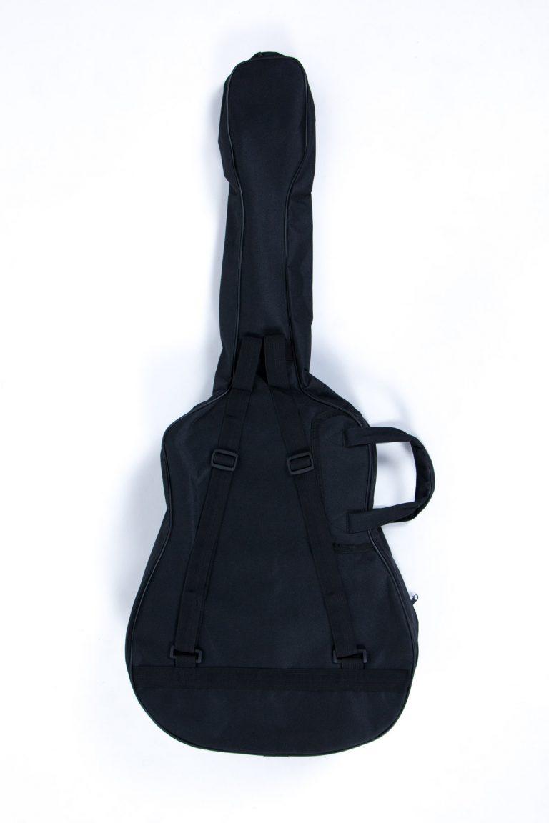 กระเป๋ากีตาร์โปร่ง 41 นิ้ว GustaFeelin QB-MB-420-41 ด้านหลังตรงกลาง ขายราคาพิเศษ