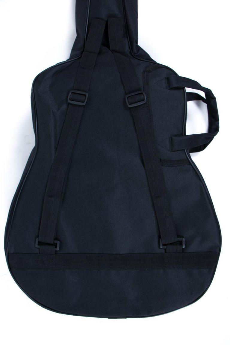 กระเป๋ากีตาร์โปร่ง 41 นิ้ว GustaFeelin QB-MB-420-41 ด้านหลังเเนวตรง ขายราคาพิเศษ