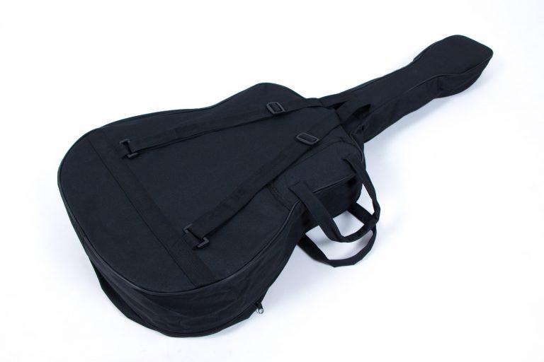 กระเป๋ากีตาร์โปร่ง 41 นิ้ว GustaFeelin QB-MB-420-41 ด้านหลัง ขายราคาพิเศษ