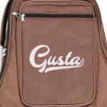 กระเป๋ากีต้าร์ Gusta QB-MB- สีน้ำตาล ขนาดข้างใน12MM center ขายราคาพิเศษ