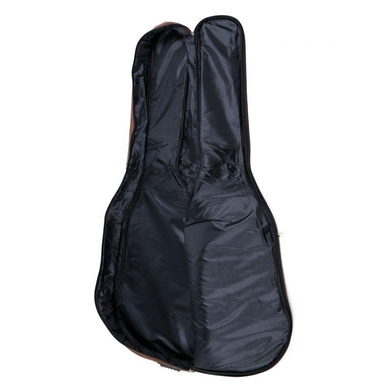 กระเป๋ากีต้าร์ Gusta QB-MB- สีน้ำตาล ขนาดข้างใน12MM inside ขายราคาพิเศษ