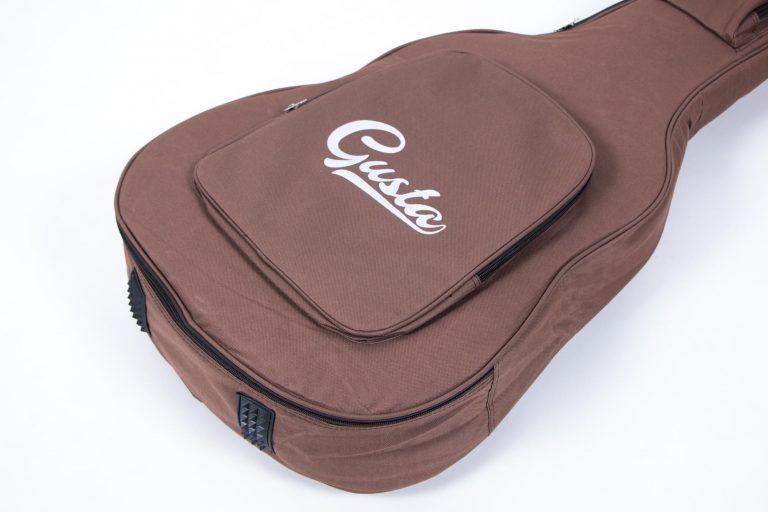 กระเป๋ากีต้าร์41 นิ้ว Gusta QB-MB- สีน้ำตาล ด้านล่าง ขายราคาพิเศษ