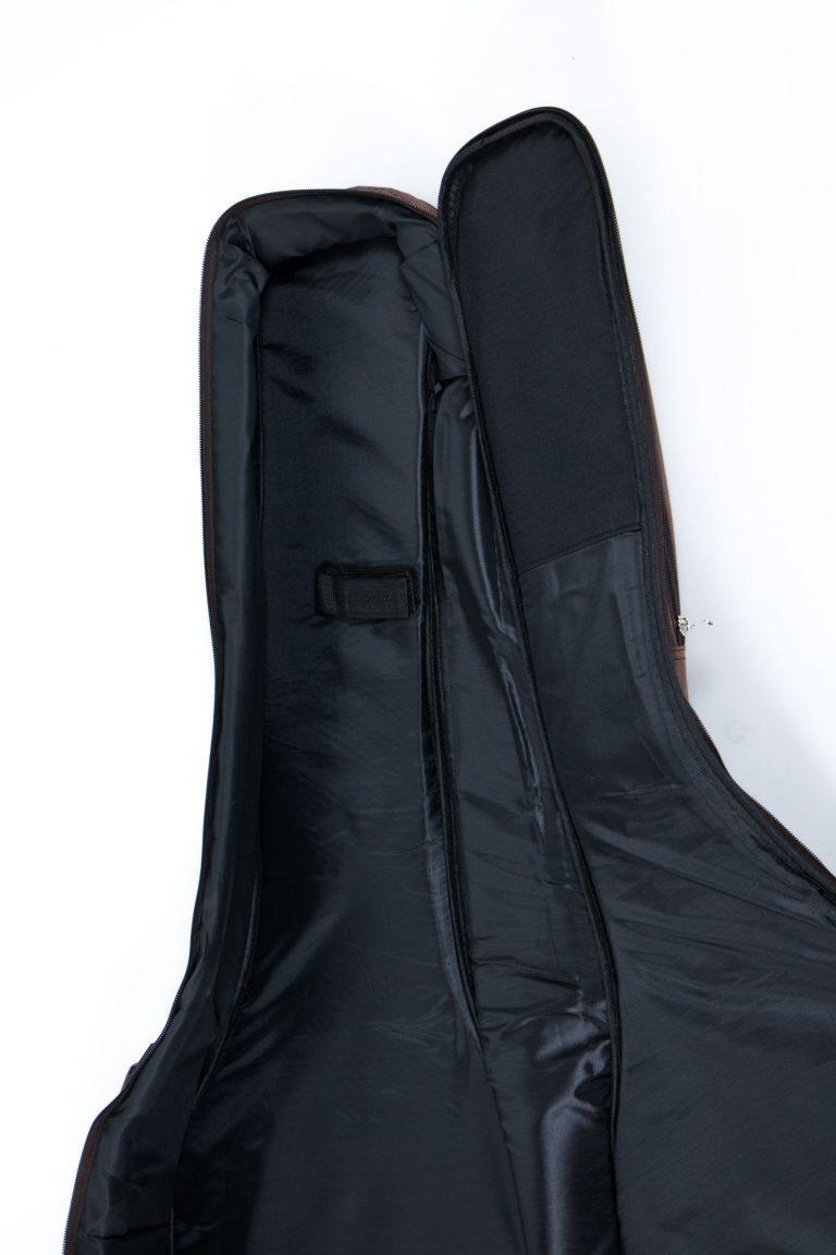 กระเป๋ากีต้าร์41 นิ้ว Gusta QB-MB- สีน้ำตาล ด้านในด้านบน ขายราคาพิเศษ