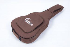 กระเป๋ากีต้าร์41 นิ้ว Gusta QB-MB- สีน้ำตาล