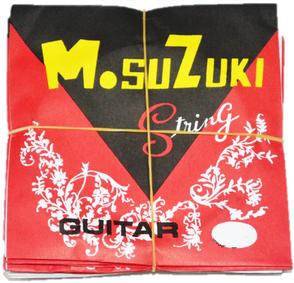 สายกีตาร์โปร่ง Suzuki ขายปลีก สาย 1-2 ขายราคาพิเศษ