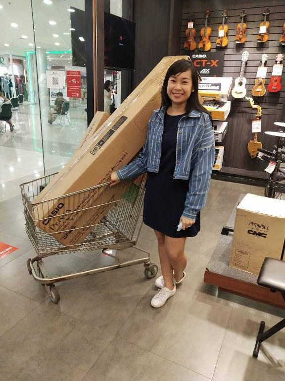 ลูกค้าที่ซื้อ เปียโนไฟฟ้า Casio PX-S1000 Privia