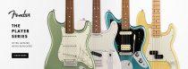 มารู้จักกีต้าร์ไฟฟ้า Fender Player Series ของดีปี 2018