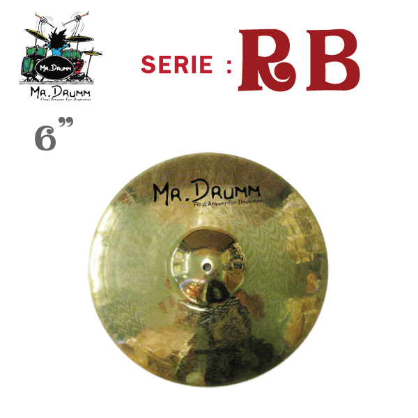 ฉาบ MR.Drumm RB-6 ขายราคาพิเศษ