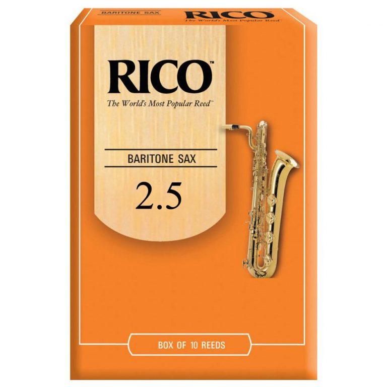 ลิ้นบาริโทนแซค Rico RLA1025 เบอร์ 2.5 ขายราคาพิเศษ