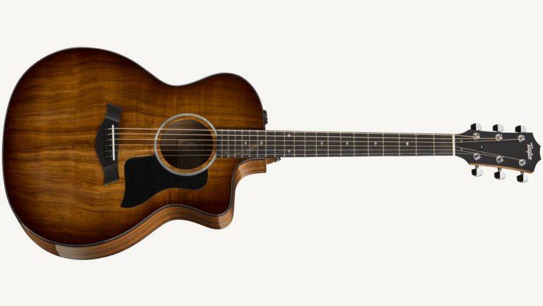 Taylor 224ce-K DLX Acoustic Guitar ขายราคาพิเศษ