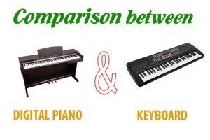 5 ความแตกต่างระหว่างคีย์บอร์ดกับเปียโนไฟฟ้า