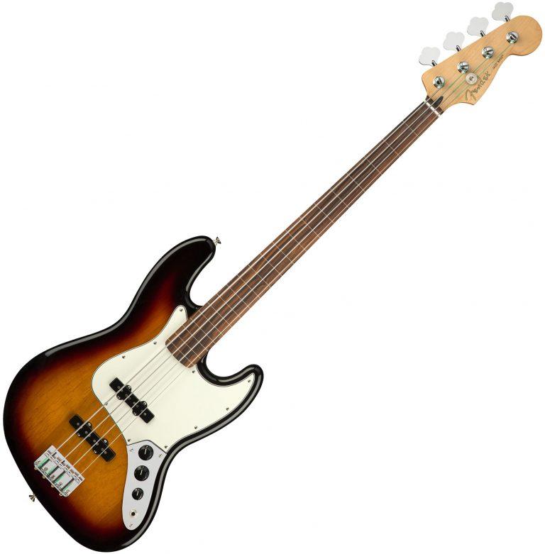 Fender Player Jazz BassFretless ขายราคาพิเศษ