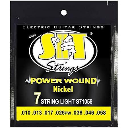 สายกีต้าร์ไฟฟ้า SIT S71058 ขายราคาพิเศษ