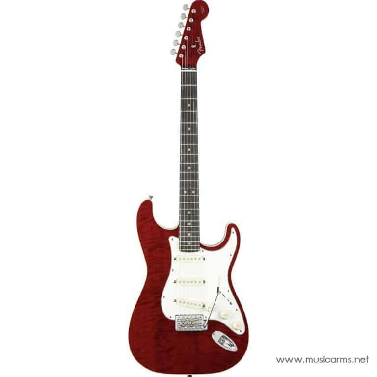 face cover กีต้าร์ไฟฟ้า Fender Aerodyne Classic Stratocaster Flame Maple Top ขายราคาพิเศษ