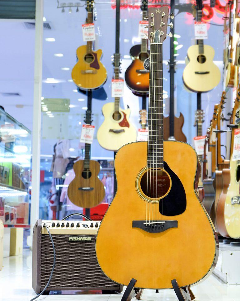 Showcase Yamaha FG3
