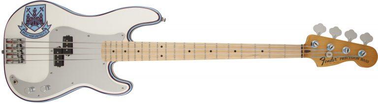 เบส Fender Steve Harris Precision Bass ขายราคาพิเศษ