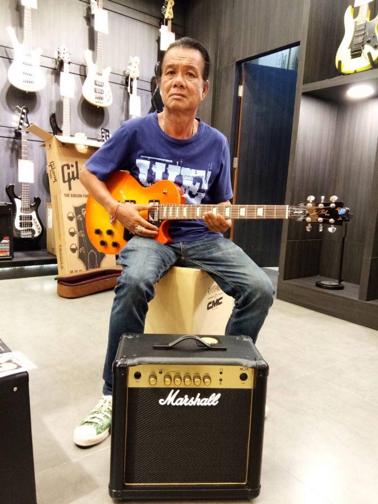ลูกค้าที่ซื้อ Marshall MG15 Guitar Amp