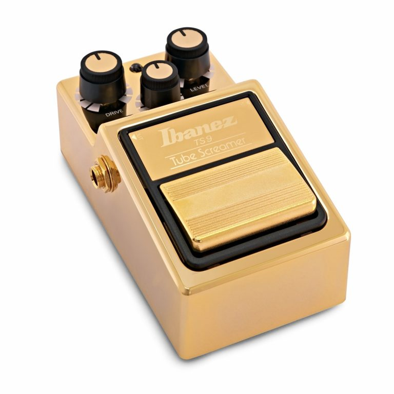 เอฟเฟค Ibanez TS9 Tube Screamer Limited Edition Gold Finish ขายราคาพิเศษ