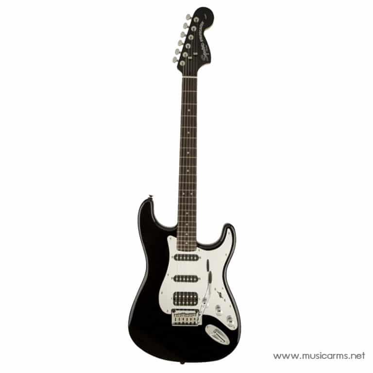Squier Black and Chrome Stratocaster ขายราคาพิเศษ