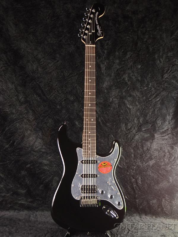 Squier Black&Chrome Standard Stratocaster