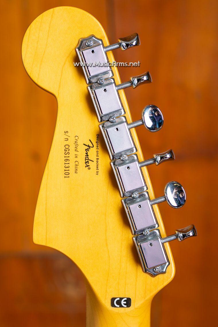 Squier Deluxe Jazzmaster with Tremoloหลังคอ ขายราคาพิเศษ
