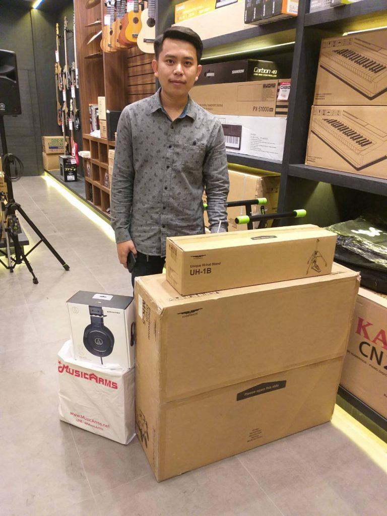 ลูกค้าที่ซื้อ Audio Technica ATH-M30X