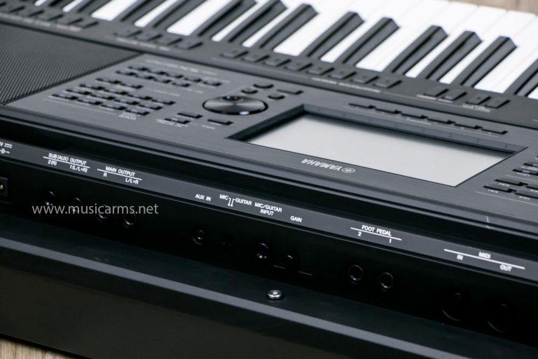 ด้านหลัง คีย์บอร์ด YAMAHA PSR-SX900 ขายราคาพิเศษ