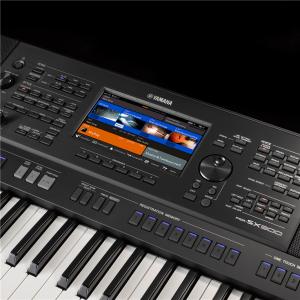 แผนควบคุม Yamaha PSR-SX900
