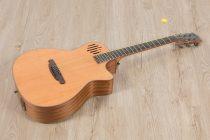 โปร่งไฟฟ้า Gusta OM-JE II N 40Acoustic guitar full body s