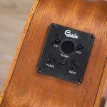 โปร่งไฟฟ้า Gusta OM-JE II N 40Acoustic guitar pickup zoom ขายราคาพิเศษ