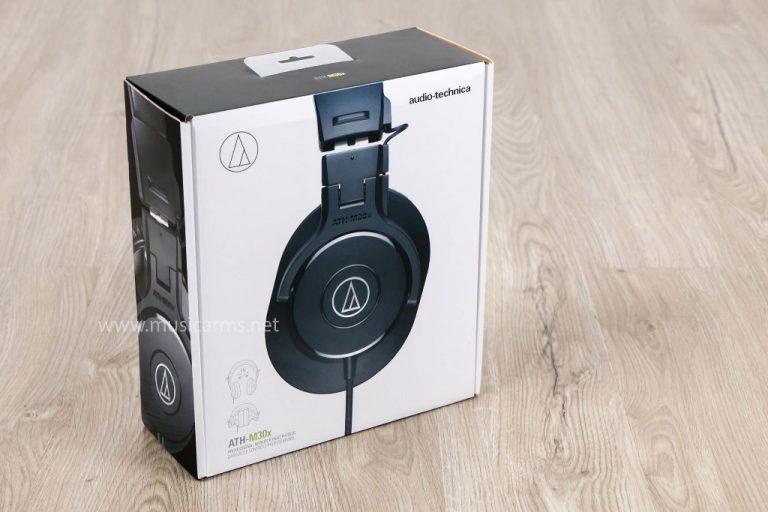 กล่อง Audio Technica ATH-M30X ขายราคาพิเศษ