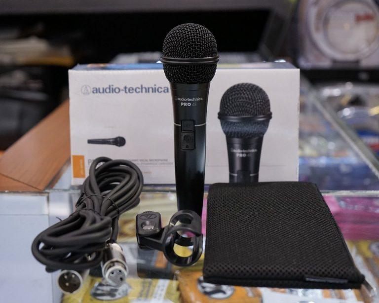 Showcase Audio Technica PRO 41