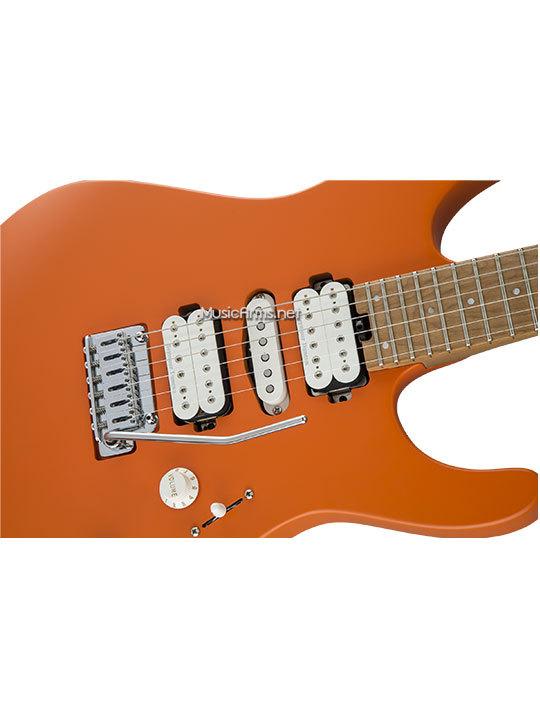 Charvel Pro Mod DK24 HSH 2PTคอยส้ม ขายราคาพิเศษ