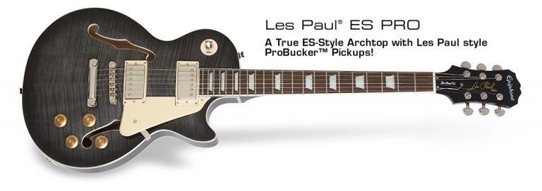 Epiphone Les Paul ES Pro ขายราคาพิเศษ