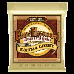Ernie Ball Earthwood 80/20 Bronze Extra Light P02006 ลดราคาพิเศษ